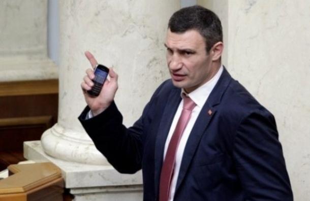 Виталий Кличко принял присягу, но забыл ее прочитать