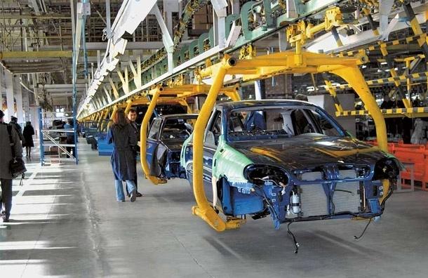 Автопром в Петербурге упал на 16%