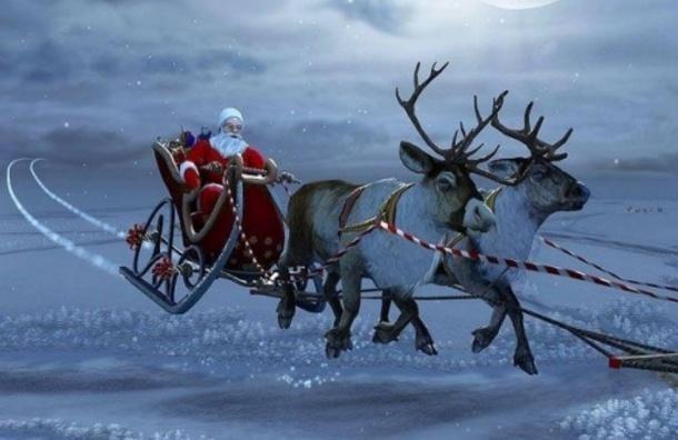 Санта Клаус раздал более 7 млрд подарков и вернулся на Северный полюс