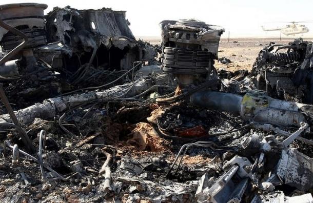 СМИ: А321 могли взорвать при помощи взрывчатки на основе С-4