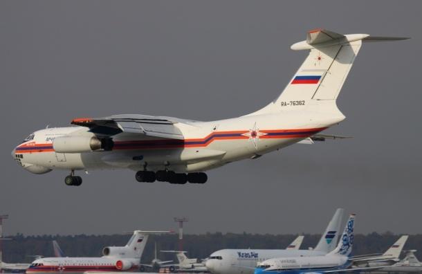 Более 40 тонн гуманитарного груза доставляет Россия в Киргизию