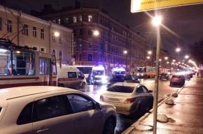 Очевидцы: Двух мужчин сбили на Обуховской Обороны