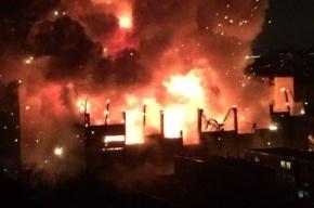 Пожар на Тушинском машзаводе стал крупнейшим за 25 лет для Москвы