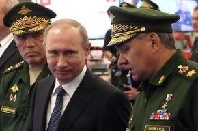 Путин приказал уничтожать любые цели в Сирии, которые угрожают российским военным