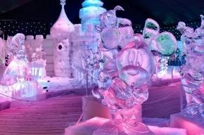 Ледяная выставка откроется в Петропавловской крепости