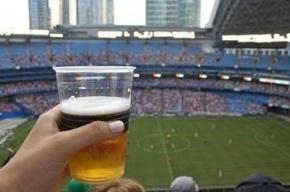 Путин поручил правительству рассмотреть возможность продажи пива на стадионах