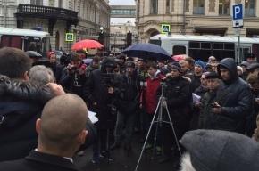 Депутаты встретились с москвичам, выступающими против платной парковки