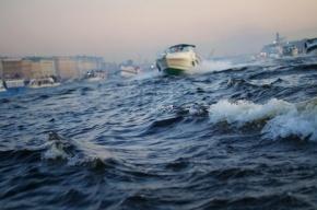 Ветер поднимет метровые волны на Финском заливе