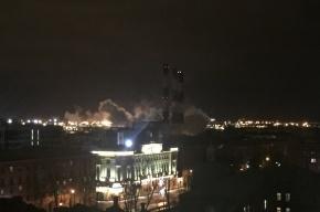 Третья турбина на Василеостровской ТЭЦ остановилась ночью