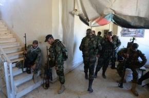 Самолеты международной коалиции разбомбили базу сирийской правительственной армии