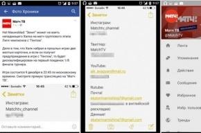 «Матч ТВ» случайно опубликовал в социальных сетях список паролей от аккаунтов канала