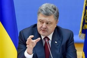 Порошенко считает, что Путин превратит Крым в военную базу с сибиряками