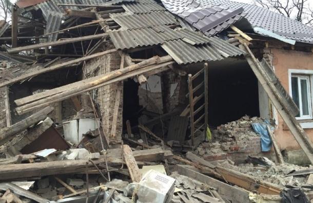 Взрыв газового баллона разворотил частный дом под Калининградом