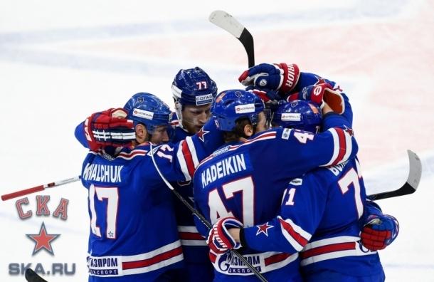 СКА обыграл «Металлург» в последнем домашнем матче года