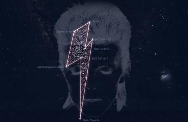 Появилось созвездие имени Дэвида Боуи