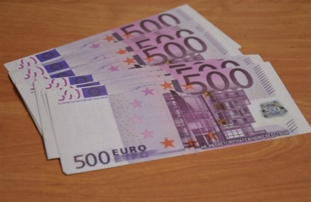 Евро перескочил рубеж в 89 рублей