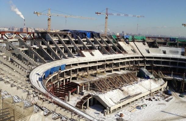 Сроки окончания строительства «Зенит-Арены» сорваны