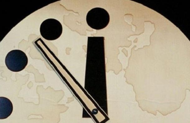 «Стрелки часов Судного дня» остановили за 3 минуты до Апокалипсиса