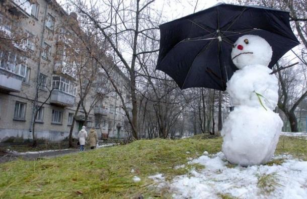 Россию ждет аномально теплое начало февраля