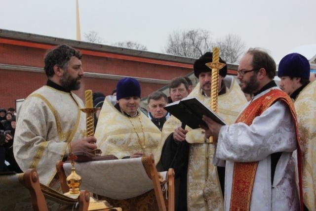 Крещение 19 января 2016 года в Петербурге, фото: Николай Борисов, МР: Фото