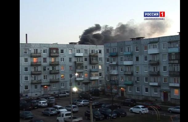 Под Калининградом в воинской части взорвалась БМП-2