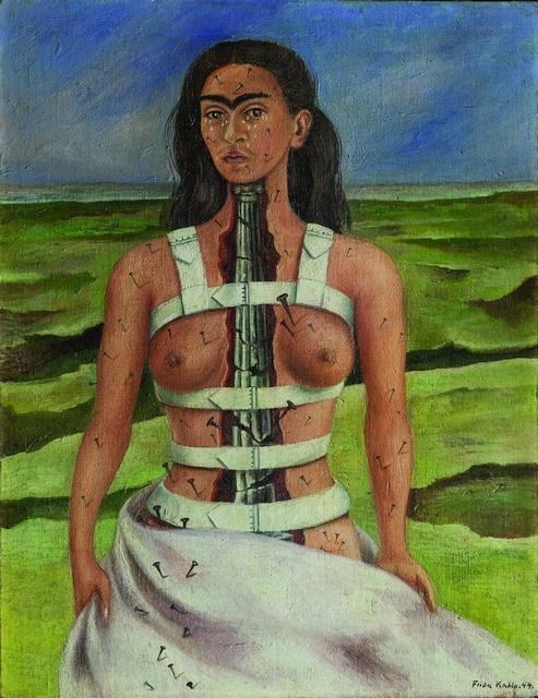 _Frida Kahlo_Columna rota