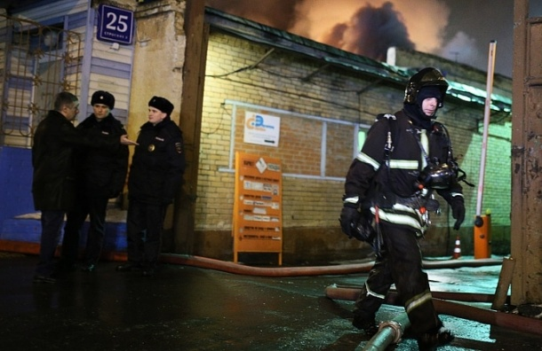 Астахов: В пожаре в швейном цеху в Москве погибли трое детей