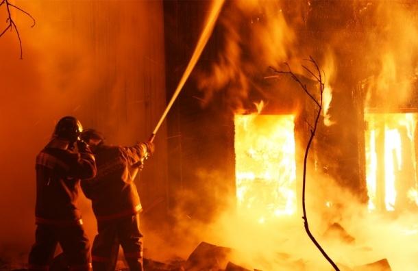 Двое детей погибли под Тюменью в результате пожара