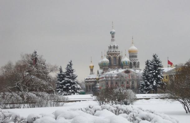 Петербург с 12 января накроют снегопады