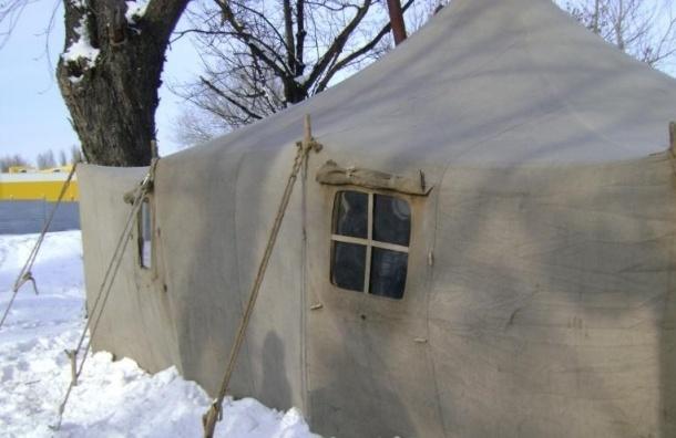 Пункты обогрева для бездомных развернуты в Петербурге