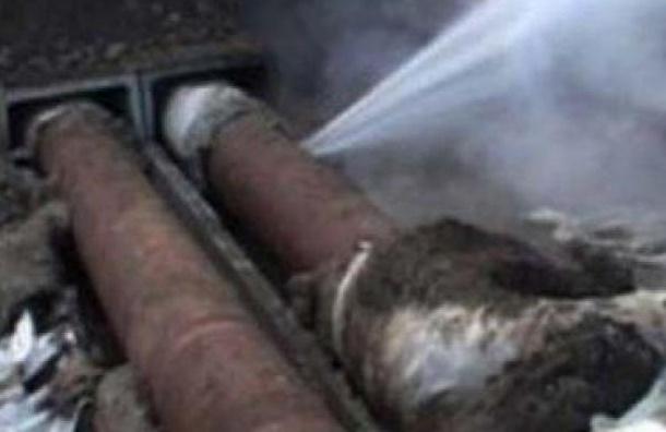 Теплоснабжение 344 домов в Адмиралтейском районе нарушено
