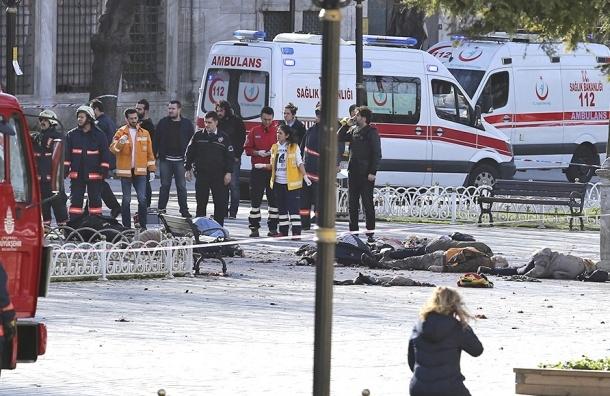 Количество погибших в теракте в Стамбуле достигло 10 человек