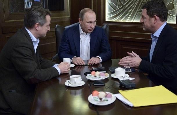 Путин: Санкции оздоравливают российскую экономику