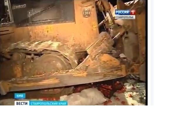 Турецкие мандарины давили бульдозерами на Ставрополье