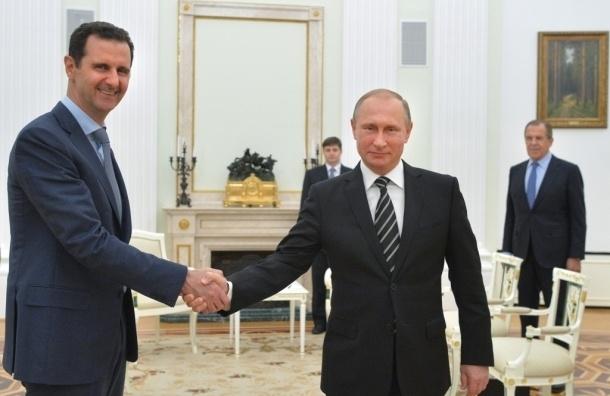 Путин предложил Асаду уйти в отставку