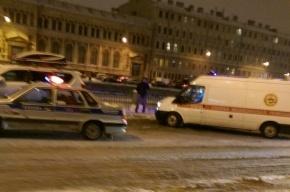 Очевидцы: на набережной Фонтанки сбили насмерть пешехода