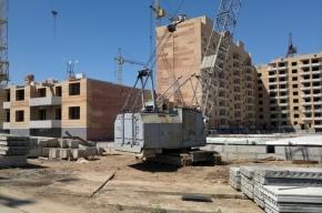 Строительство в Петербурге замедлилось на 7%