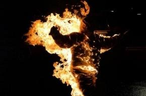 Петербургского школьника подозревают в попытке сжечь отчима