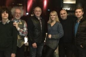 Ходорковский о фото с Валерией: Ее песни напоминали мне о доме
