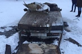 СМИ опубликовали фото автомобиля, который нашли на дне Енисея