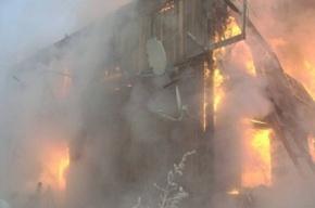 Четыре человека пострадали из-за пожара в доме в Красноярске