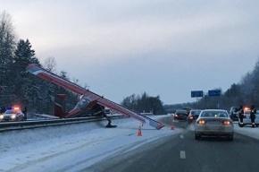 Пилот приземлившегося на Ярославском шоссе самолета сбежал