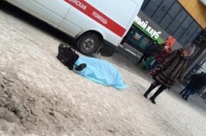 Мужчина умер у станции метро «Проспект Просвещения»