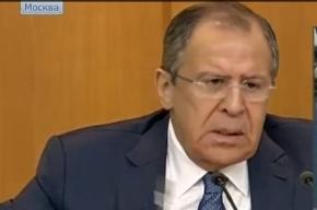 Лавров: Асад не просил политического убежища в России
