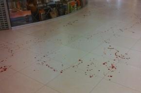 Неизвестный порезал продавца ножей в ТРК «Балкания Нова»