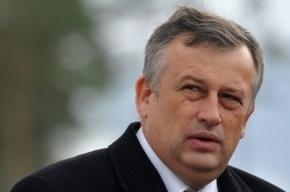 Губернатор Ленобласти Дрозденко окунулся в прорубь