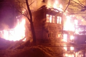 Ребенок и четверо взрослых погибли при пожаре в Ленобласти