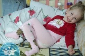 Пятилетней петербурженке нужна помощь, чтобы начать ходить и говорить