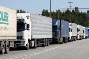 Российские грузовики перестали пропускать через границу Украины