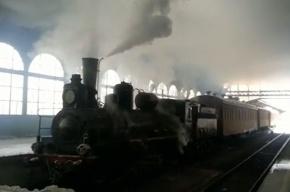 Пассажиры Витебского вокзала удивились съемкам сериала «Анна Каренина»